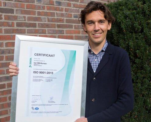 ISO 9001 Certificaat het Direct Mail Bureau