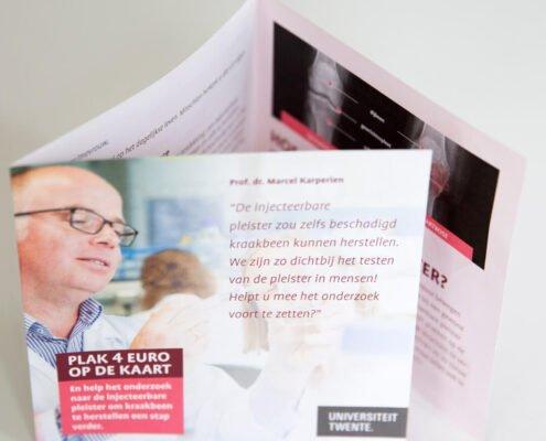 Reuma fonds direct mail klantvwerving demo